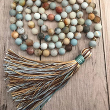 Load image into Gallery viewer, Amazonite Mala