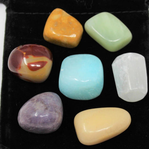 Chakra Stone Set - 7 Medium Alternative Stones