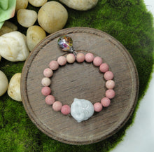 Load image into Gallery viewer, Rhodonite Love Yourself Bracelet