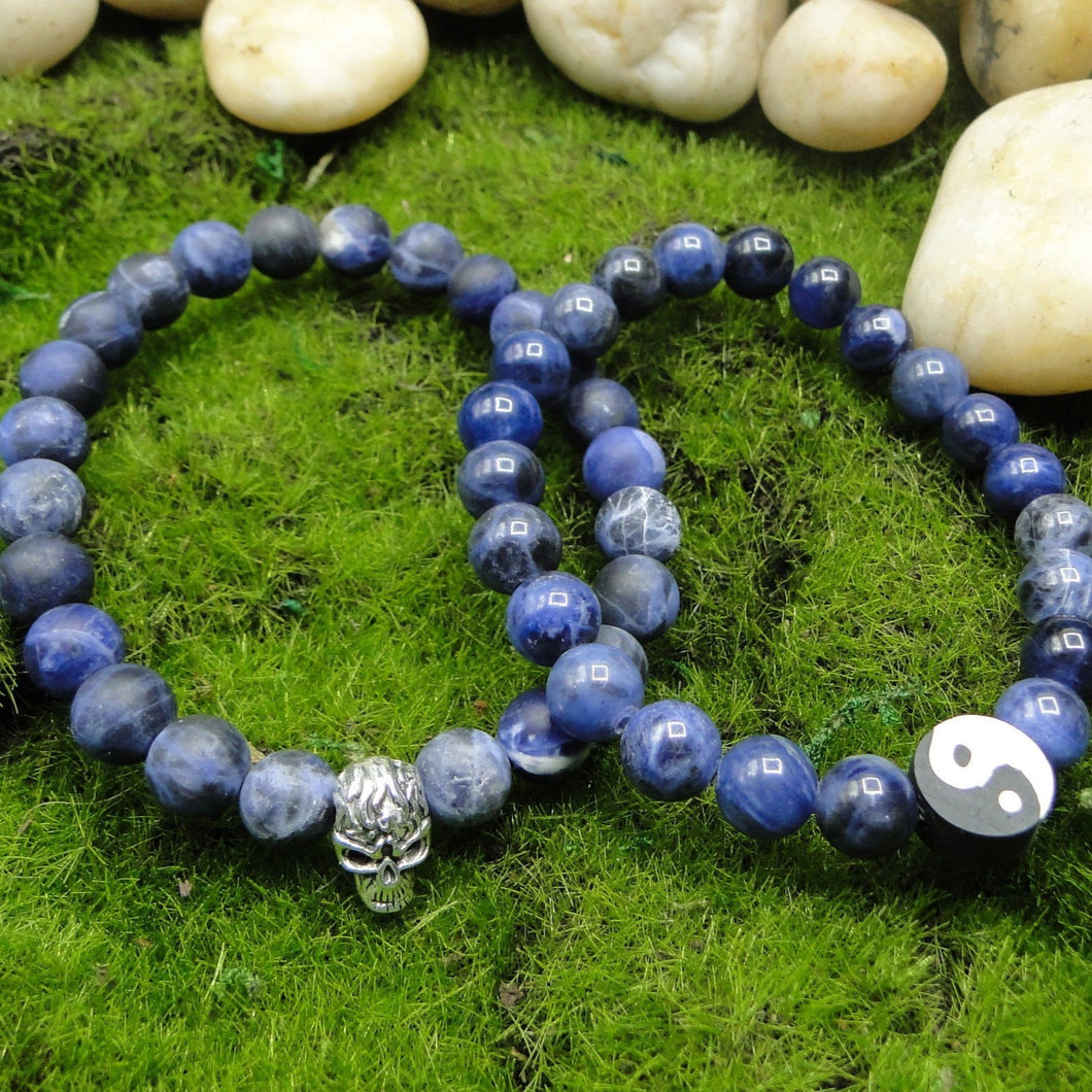 Sodalite Healing Bracelet with choice of spacers