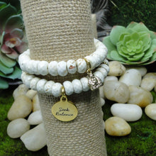 Load image into Gallery viewer, White Howlite Calming & Soothing  Bracelet