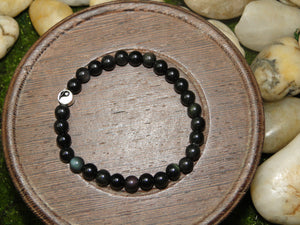 Rainbow Obsidian - Balance, Joy & Protection Bracelet