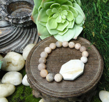 Load image into Gallery viewer, Sun & Moon Crystal Healing Bracelet
