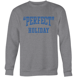 """Perfect"" Holiday Crew Neck - Hamish (Blue)"