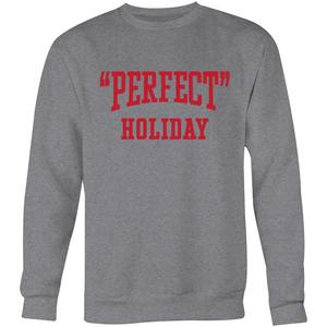 """Perfect"" Holiday Crew Neck - Andy (Red)"