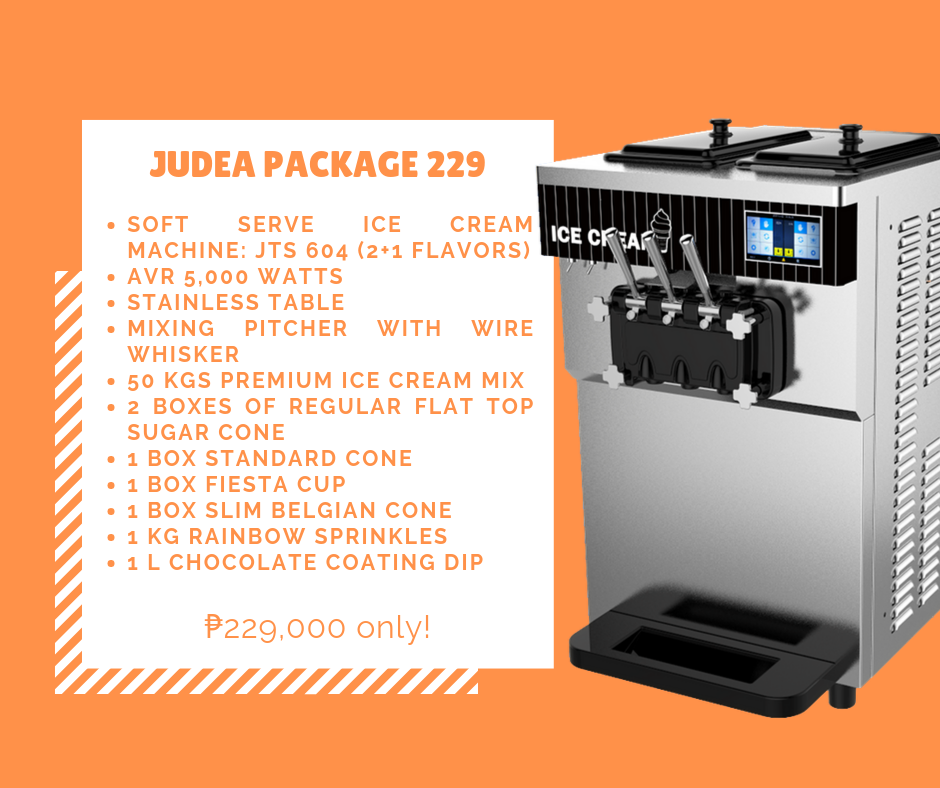 Judea Package 229 - Soft Ice Cream Business Package