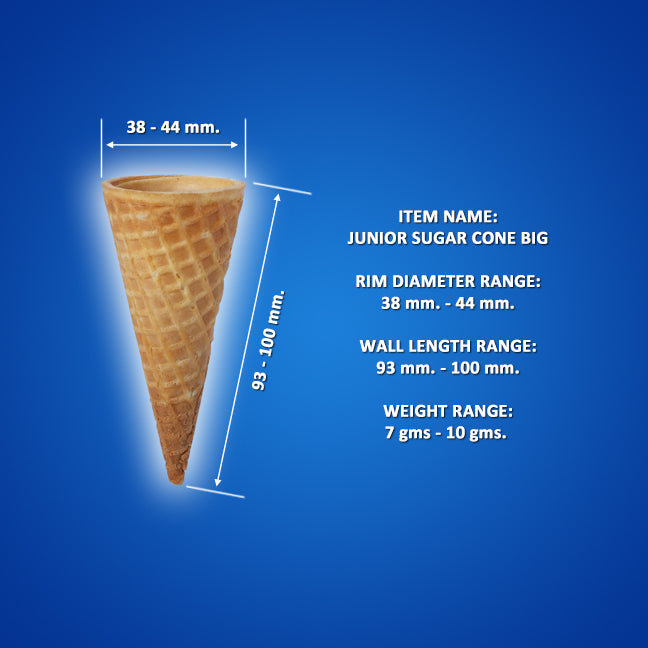 Junior Sugar Cone, 2 Tone