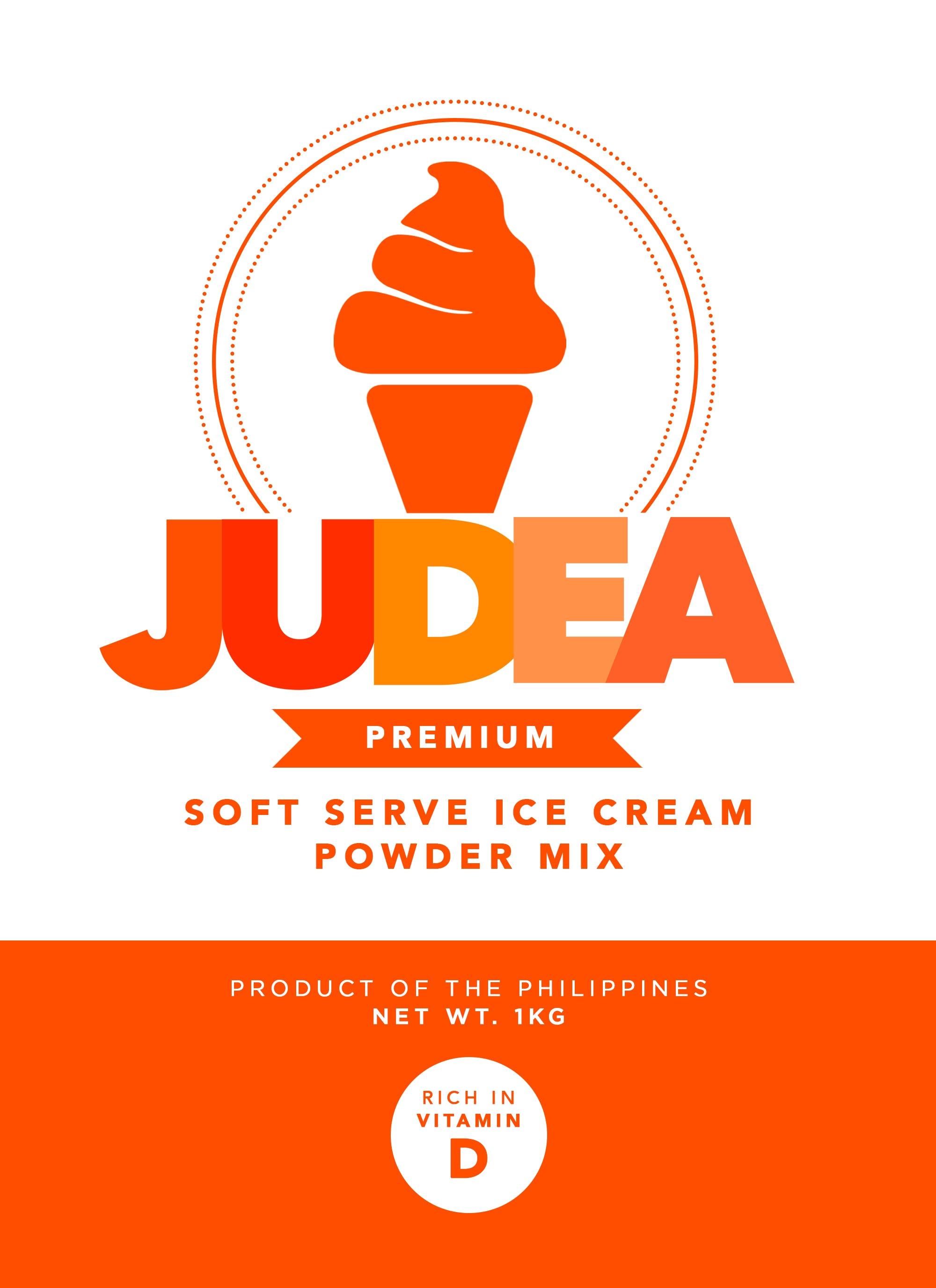 Judea Soft Serve Ice Cream Premix - Premium