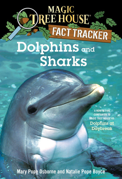 Books - Fact Tracker Dolphins And Sharks