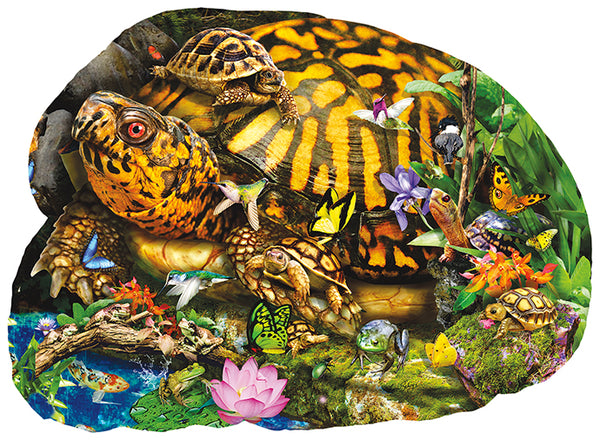 Puzzle, Boxed, Tortoise Crossing