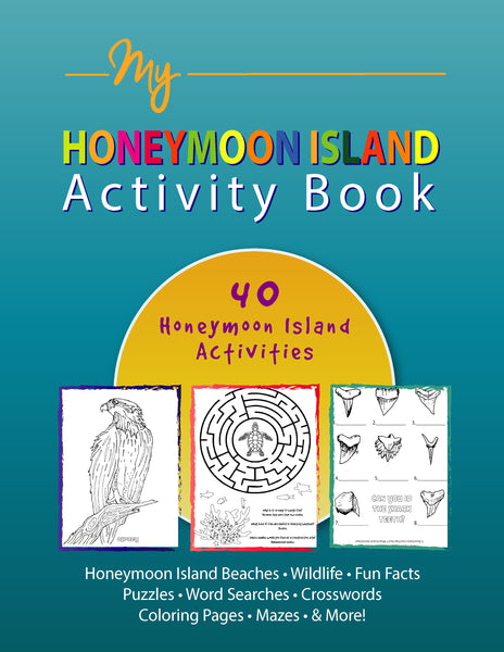 Books - Honeymoon Island Activity Book