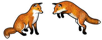 Jewelry - Earrings, Red Fox