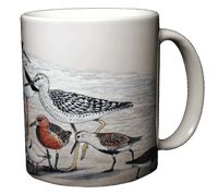 Mug, Ceramic, Single, Shorebirds