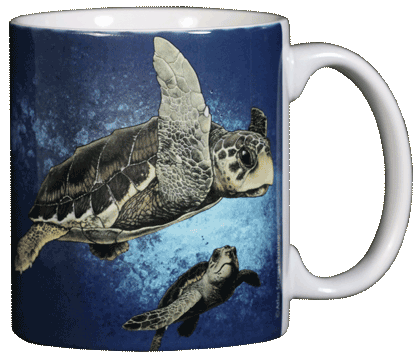 Mug, Ceramic, Single, Loggerhead