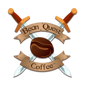Bean Quest Coffee Logo in the affiliate section of the Bean Quest coffee website