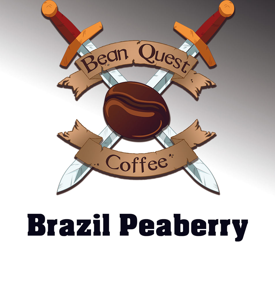 Brazilian Peaberry Organic - Bean Quest Coffee