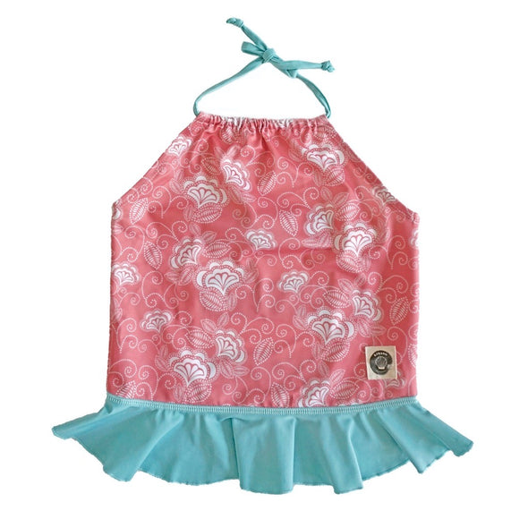 Girls Tankini Kemuning Peach