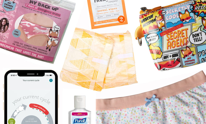How to Create a First Period Kit for Your Daughter