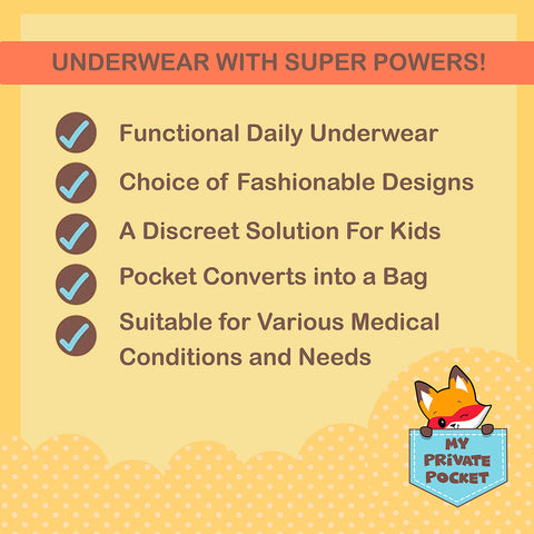 Undies for children with incontinence