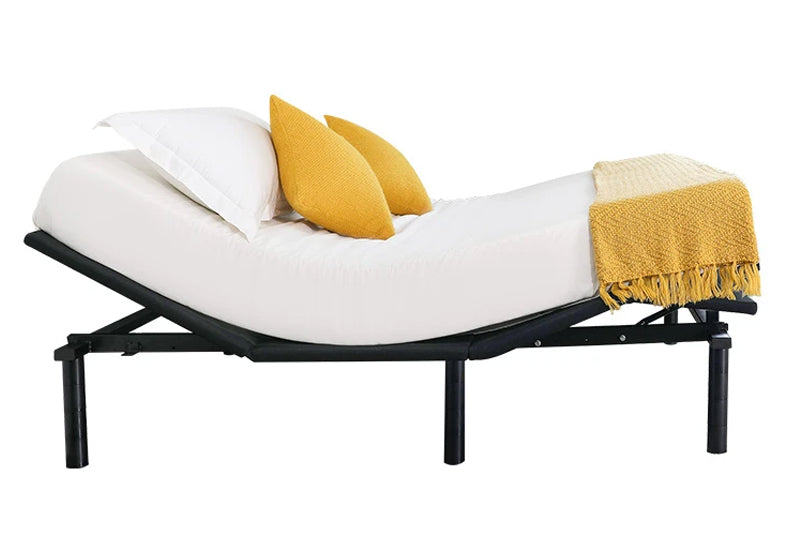 Turmerry's adjustable base bed