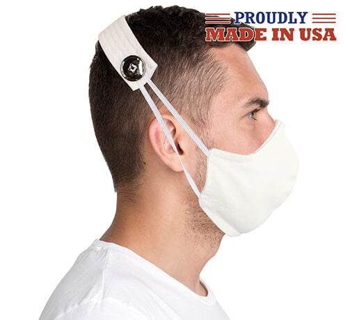 Ear Savers - Organic Cotton Face Mask Straps Made in USA