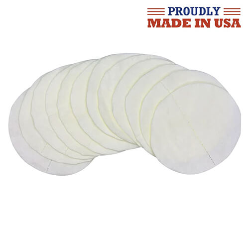 Face Mask Filter Inserts - Polypropylene Paper Sheets - Pack of 12 Filters