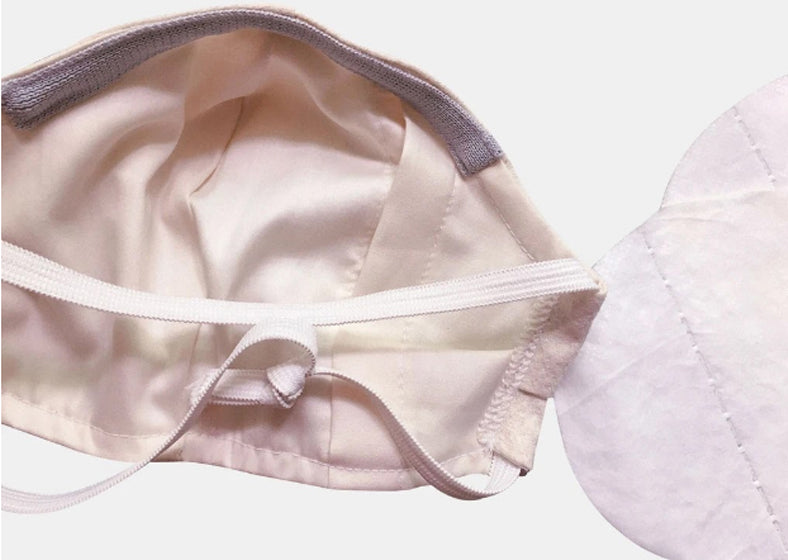 Organic cotton face mask made with higher thread count