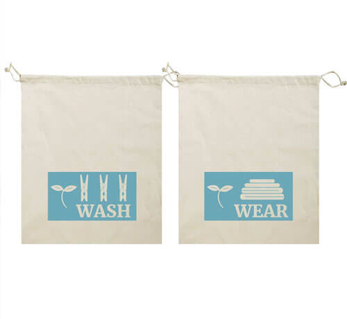 Face Mask Storage Bags Clean Dirty Set Wholesale