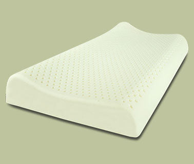 Organic Dunlop Cervical Contour Latex Pillow