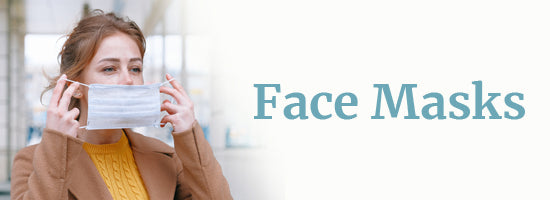 turmerry face masks - cloth, organic cloth masks, kn95 surgical and respirator masks collection banner