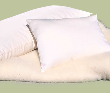 turmerry natural usa made wool pillow Keeps You Warm And Cool