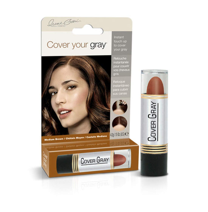 Cover Your Gray Hair Color Touch-up Stick - Medium Brown (3-PACK)