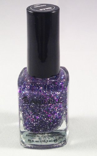 Barielle Purple Hearts Nail Polish - Purple Glitter, .45 oz.