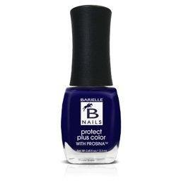 Protect+ Nail Color w/ Prosina - Midnight in Paris (A Creamy Midnight Blue/Purple) - Barielle - America's Original Nail Treatment Brand