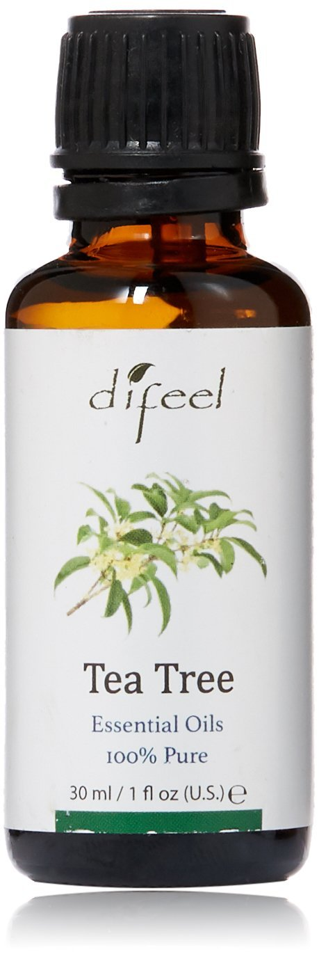 Difeel Essential Oil 100% Pure Tea Tree Oil 1 oz.