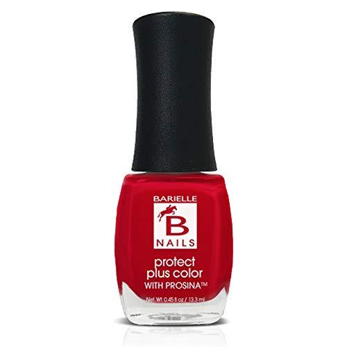 Protect+ Nail Color - Vivid (A Real Red) - Barielle - America's Original Nail Treatment Brand