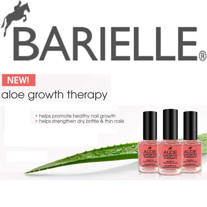 Barielle Aloe Nail Growth Therapy .45 oz. moisturizes brittle nails to help them grow longer and stronger - Barielle - America's Original Nail Treatment Brand