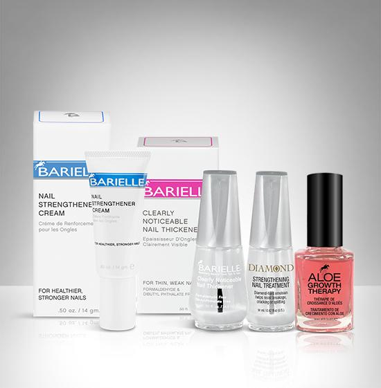 Barielle Diamond Hard Nail Treatment Bundle 4-PC SET - Barielle - America's Original Nail Treatment Brand