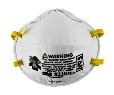 3M 8210plus N95 Particulate Disposable Respirator 10-Count