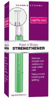 Claudia Stevens Fast N Easy Strengthener .05 ounce
