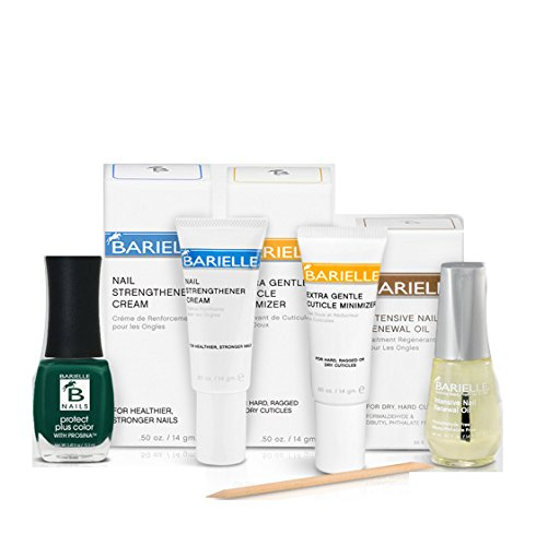 Barielle Naughty & Very Nice 4-Piece Nail Treatment Collection