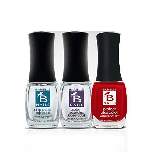 Barielle Mommy's Perfect Manicure 3-Piece Nail Treatment & Polish Collection