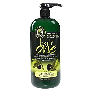 Hair One Olive Oil Cleansing Conditioner for Dry Hair 33.8 oz.