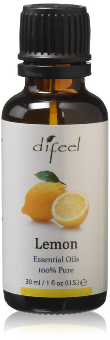 Difeel Essential Oil 100% Pure Lemon Oil 1 oz.