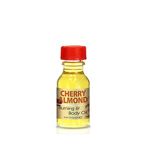 Burning & Body Oil - Cherry Almond .5 oz.