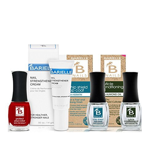 Barielle Be Strong Nail Treatment and Polish 4-Piece Collection