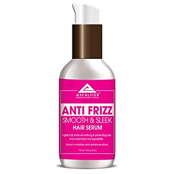 Excelsior Anti Frizz Smooth and Sleek Hair Serum 4 oz.