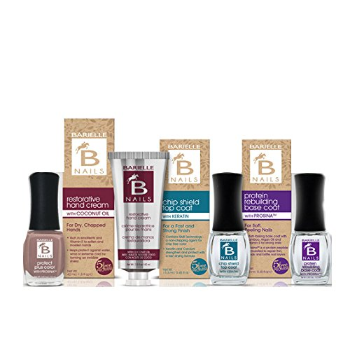 Barielle All Dressed Up 3-Piece Nail Treatment Collection