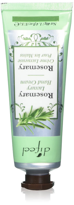 Difeel Luxury Moisturizing Hand Cream - Rosemary 1.4 oz.