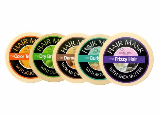 Hair Chemist Limited Deluxe Hair Mask Collection - 5 Piece Set